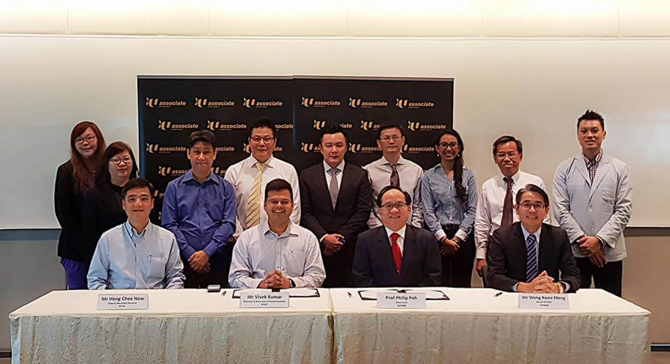 SIPMM and NTUC at the MOU Signing Ceremony