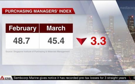 Singapore PMI Purchasing Managers' Index March 2020