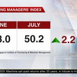 Singapore PMI Purchasing Managers' Index July 2020