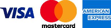 Visa Mastercard Amex Payment Mode